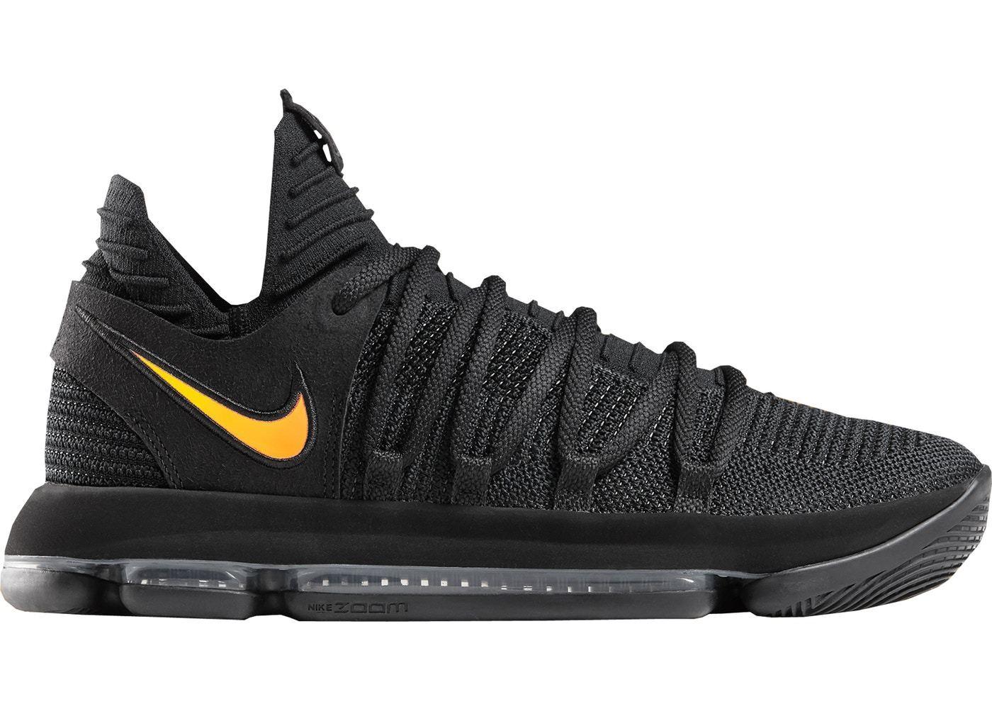 Nike KD 10 PK80 Black gold Phil Knight 80 Size 15. Jordan Kobe
