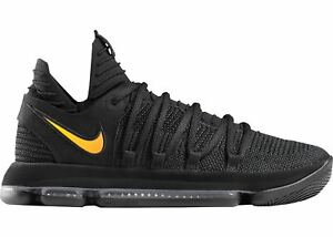 sports shoes ae432 efbad Details about Nike KD 10 PK80 Black Gold Phil Knight 80 Size 15. Jordan Kobe