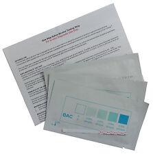 3 x Alcohol Test Saliva, Drink Or Urine