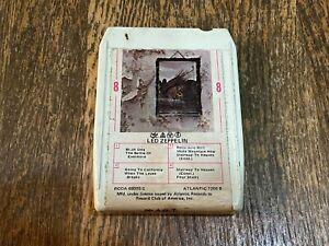 Led Zeppelin 8 Track Tape - Led Zeppelin IV - Atlantic 7208 - Record Club