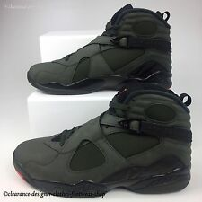 NIKE AIR JORDAN 8 RETRO TRAINERS UNDEFEATED COLOURWAY TAKE FLIGHT SHOES UK 10