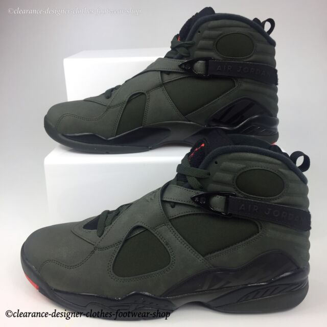 7e324683762155 NIKE AIR JORDAN 8 RETRO TRAINERS UNDEFEATED COLOURWAY TAKE FLIGHT SHOES UK  10