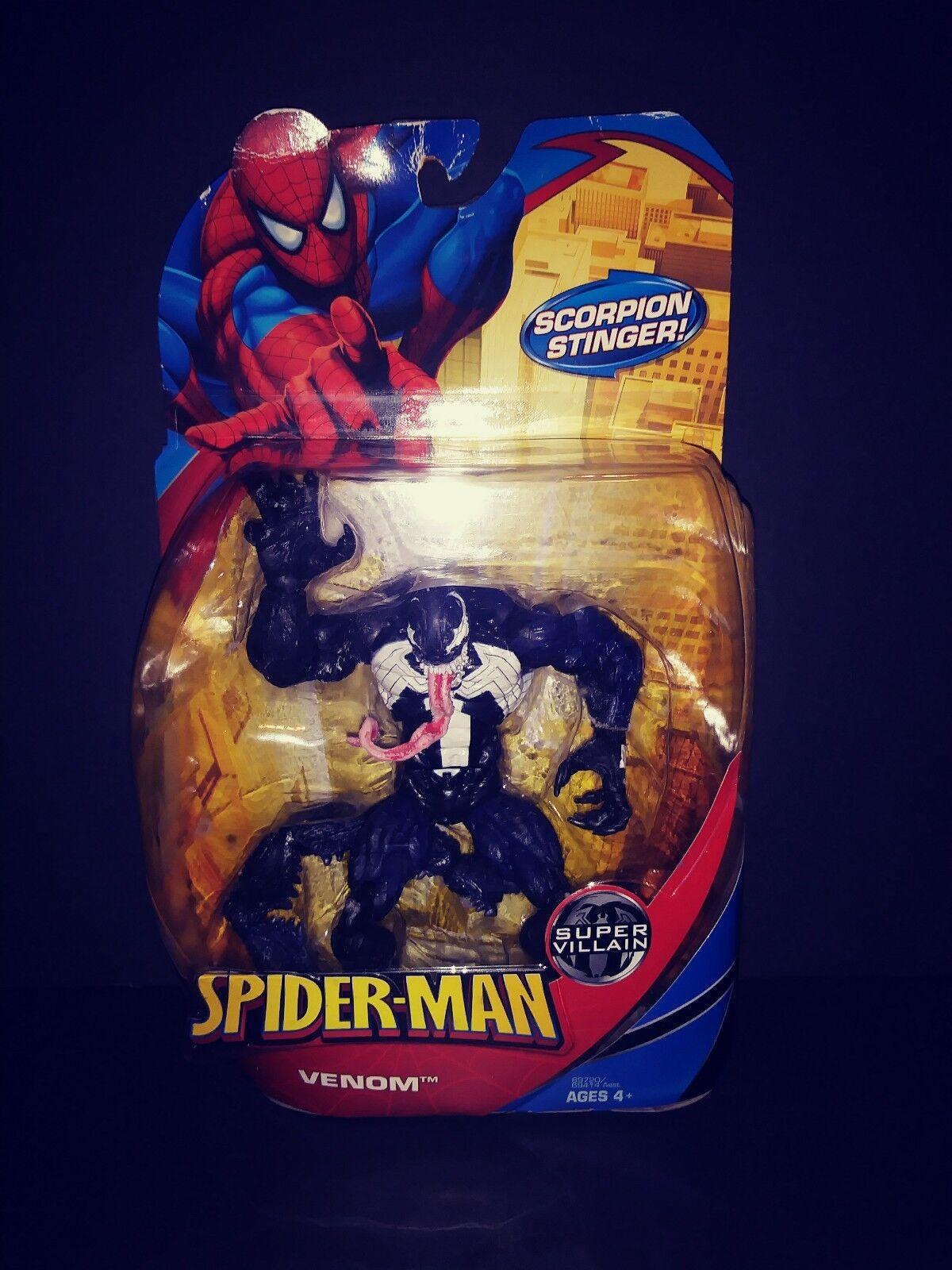 Spider-man Classics 2008 Scorpion Sting Venom Marvel legends Figure Mac Gargan