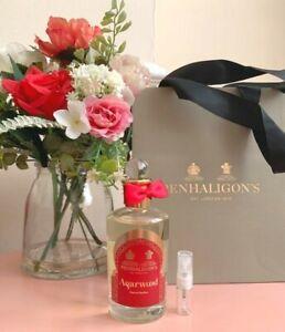 Penhaligon-039-s-Agarwood-Eau-de-Parfum-3ml-Spray-de-muestra-de-vidrio-Nebulizador-Nuevo