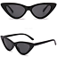 OCCHIALI-DA-SOLE-Vintage-Retro-GATTO-Cat-Eyewear-DONNA-SPECCHIO-Modello-2019 miniatura 10