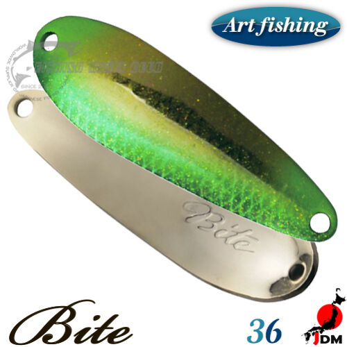 Art Fishing Bite 3.7 g Trout spoon Assorted Colors