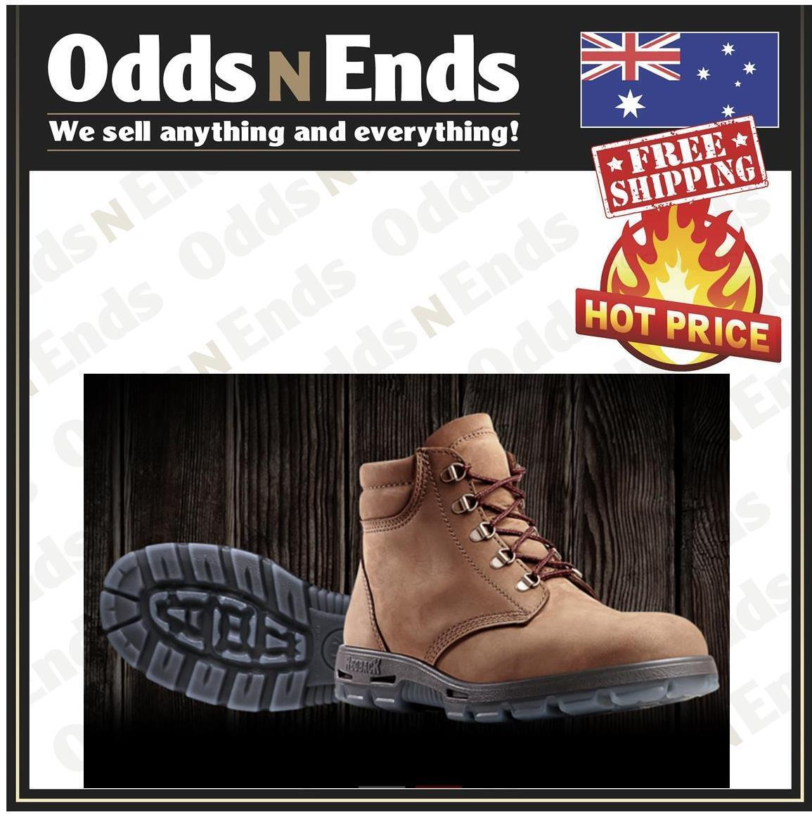 NEW  Redback UACH Alpine Non Safety Work Boots Soft Toe - AUSTRALIAN MADE