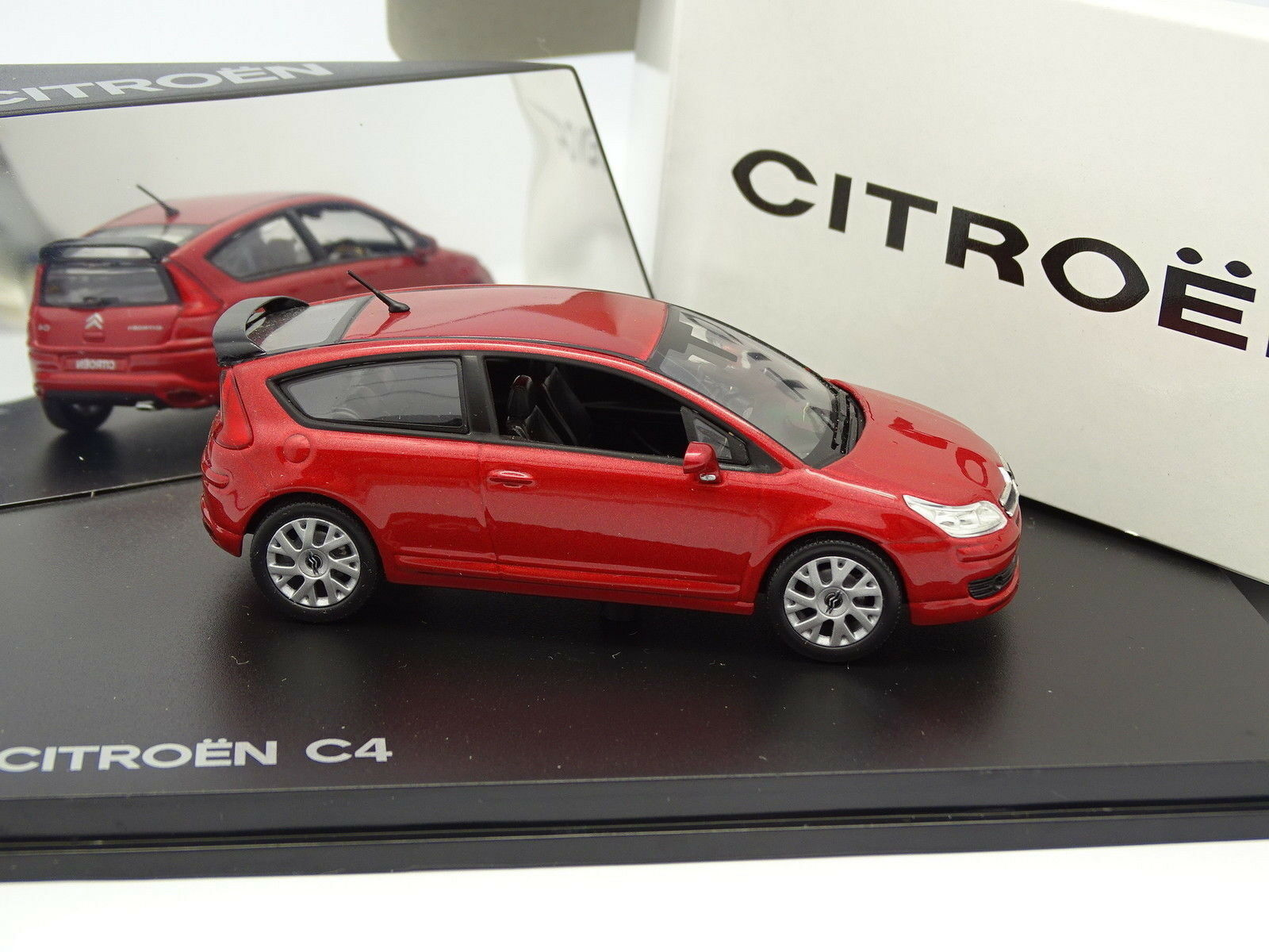 Norev 1 43 - citroen c4 2004 coupe red