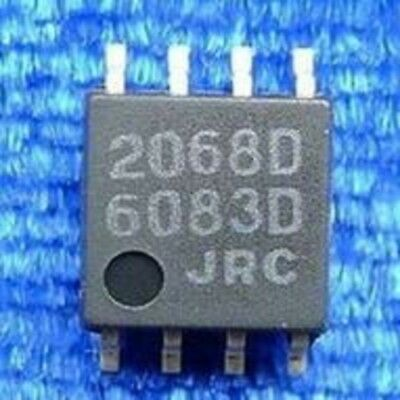 5PCS X NJM2068M IC OPAMP GP 27MHZ 8DMP NJR