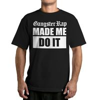 Famous Stars & Straps Gangster Rap Tee Shirt Black Large-3xlarge Limited