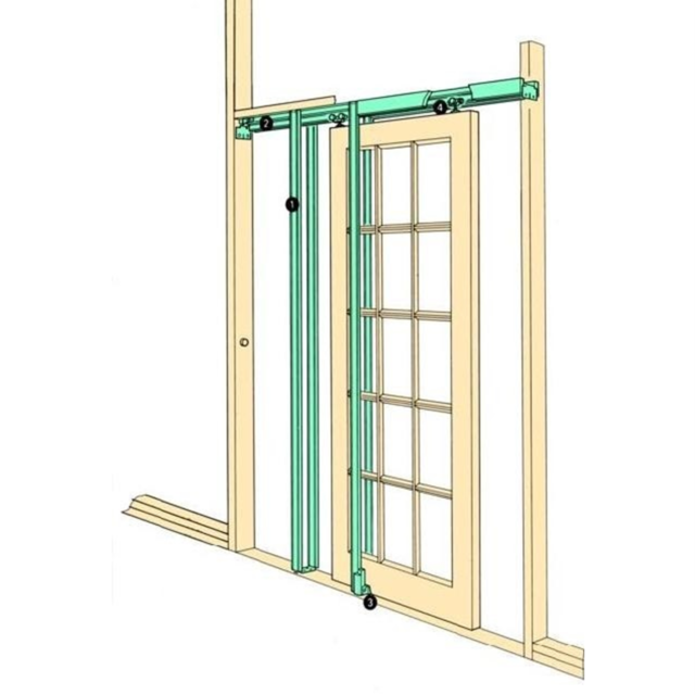 Coburn H36 Hideaway Sliding Pocket Door Frame Kit Internal