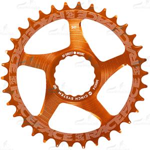 RaceFace Narrow Wide Chainring Direct Mount CINCH 34t Orange