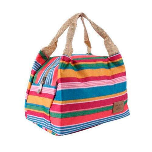 Portable Thermique Isolé Imperméable Refroidisseur Boîte Déjeuner Carry fourre-tout sac de rangement