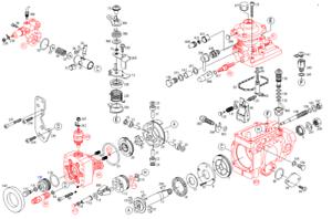 Bosch-VE-Injection-Pump-GASKET-REBUILD-KIT-for-5-9-Diesel-Dodge-Cummins