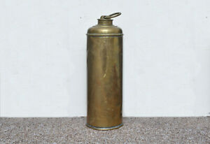 old-vintage-brass-hot-water-bottle-FREE-DELIVERY