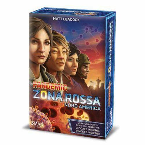 Zona Rossa Nord America Asmodee STR8398 Pandemic