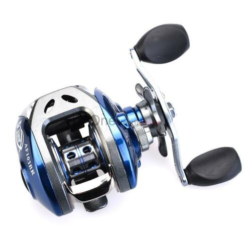 10+1 Ball Bearings Silver and Blue 213g Mini Fishing Line Wheel Spinning Reel