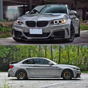 M235i-Side-Fender-Side-Skirts-Bodykit-for-BMW-F22-M235i-M-Style-Unpainted