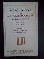 Introduccion a las Ciencias Sociales - Eneida Rivera - Ana Ward - Vol 2 - 1986