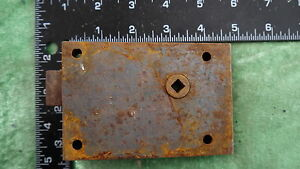 L139 Reclaimed old Victorian rim lock / door latch