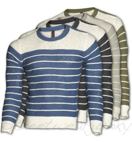8036 * Brad Burns-Lavorazione a Maglia Pullover Maglioncino Sweater Maglione T-Shirt Clubwear Nuovo