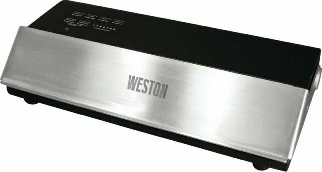 Weston 650501w Professional Advantage Vacuum Sealer Black Silver For Sale Online Ebay
