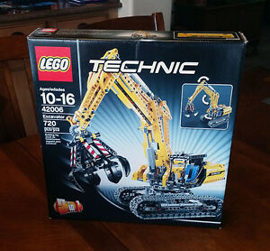Lego technic construction 42006 excavator 2 in 1 new - Jeux de construction lego technic ...