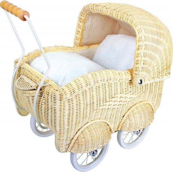 Carro de muñecas  cesta entramado , grande