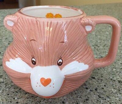 Vintage Care Bear Friend Bear 1983 Coffee Cup Mug Ceramic American Greeting