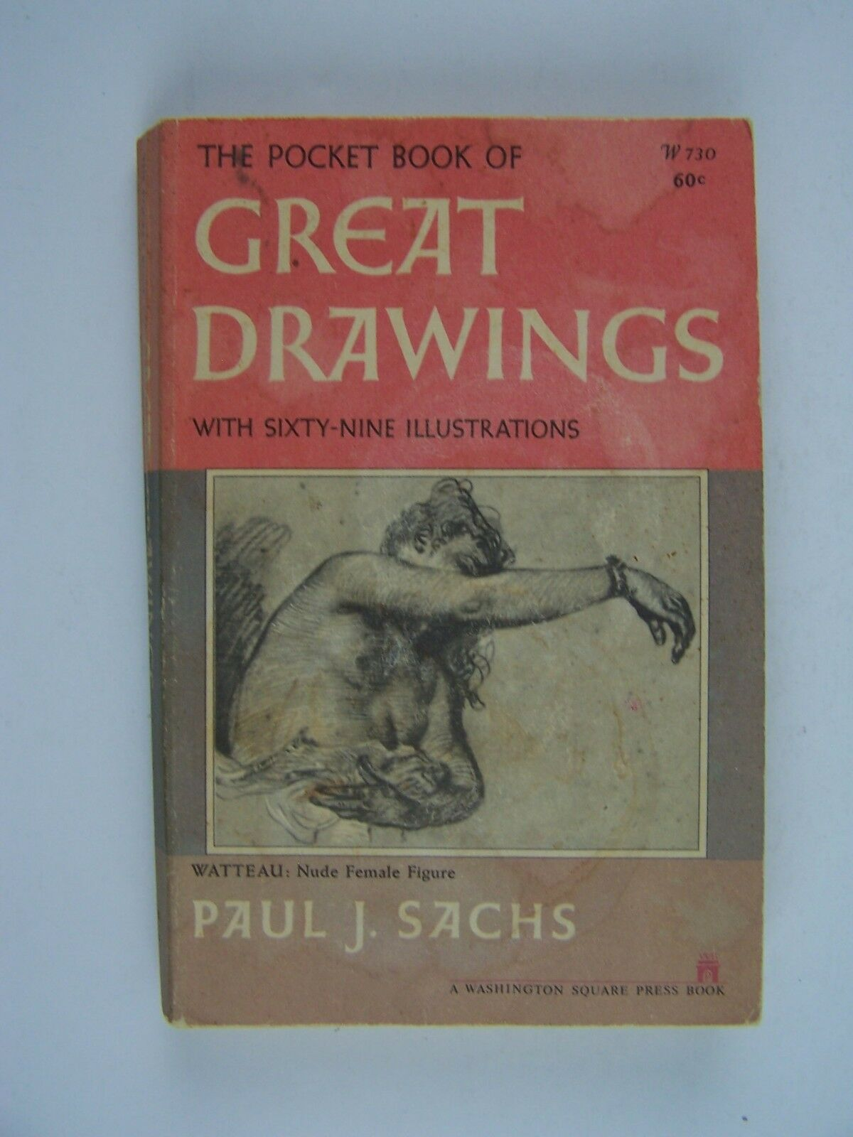 The Pocket Book of Great Drawings Paperback 1951 by Pau