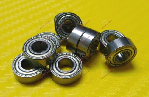 Metal Shielded Ball Bearings Bearing MR105zz Width 3mm 5x10x3 mm 20 PCS