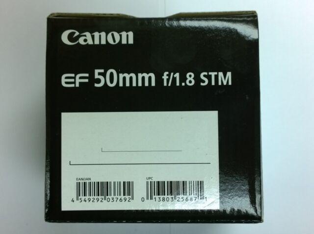 Nuovo Canon EF 50mm f/1.8 Obiettivo standard 50 mm f/1,8