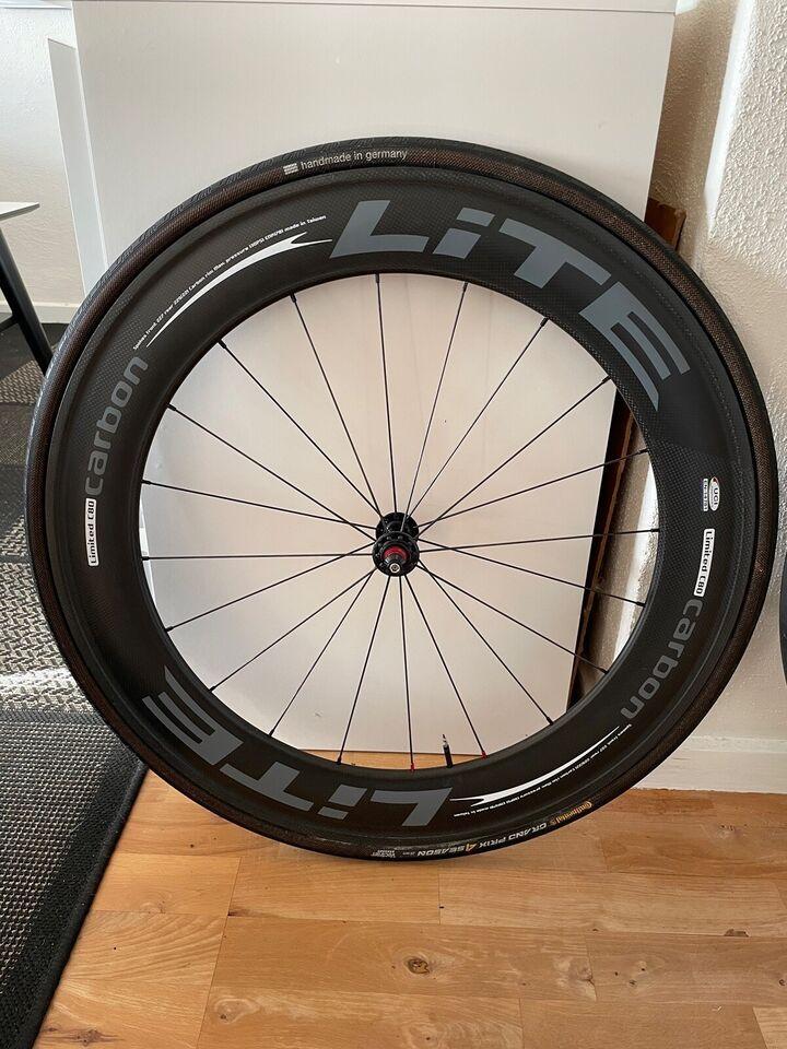 Hjul, Lite c80 full Carbon clinchers