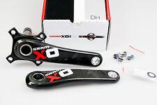 SRAM X01 DH GXP 83 165mm 1x11s Cranks Crankset Black/Red !! NEW !!