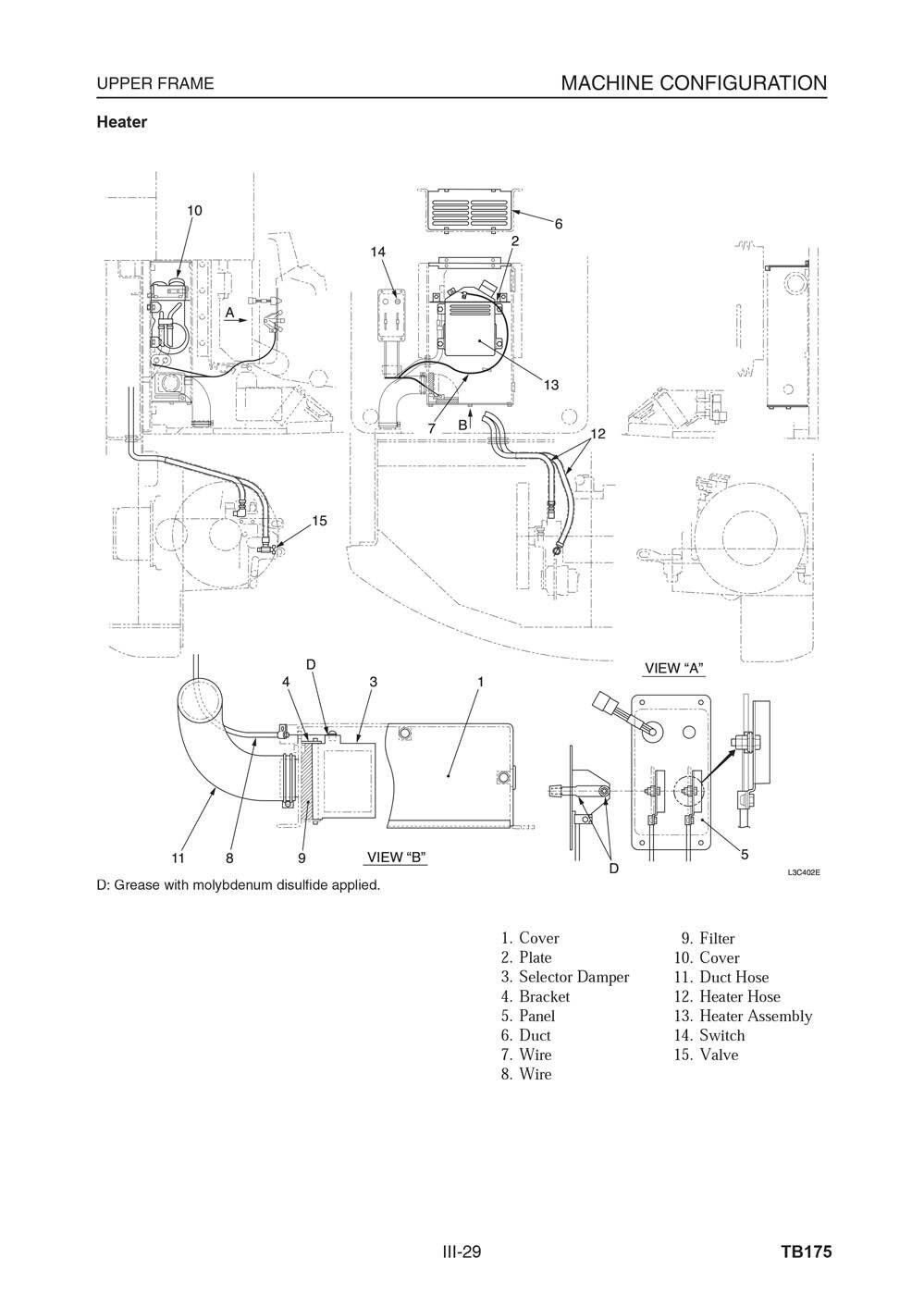 Takeuchi Tb175 Hydraulic Excavator Workshop Repair Service Manual Ebay Kubota Kx1213 Wiring Diagram