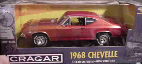 1968 CHEVELLE Candy Rouge 1 5000 1 18 ertl american muscle 32995