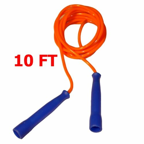 ROPE BOXING FITNESS PE SPORTS SKIPPING VINYL LOT OF 4 WORKOUTZ 10FT SPEED JUMP