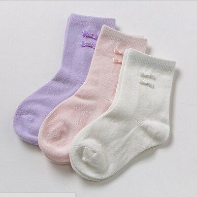 Dave /& Bella Baby Sock With Bow at Ankle 6m 12m 18m Pink Ivory Lavender NWT