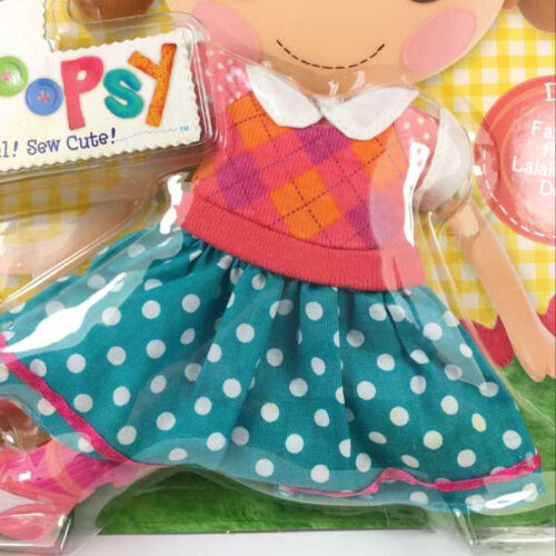 New Lalaloopsy Doll Pack Fashion Mode Summer Dress For 12inch Dolls Clothing