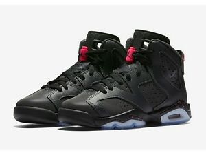 Air Jordan 6 VI Retro GG Anthracite Black Hyper Pink girls 543390-008 3682a4493