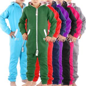 Finchkid-Kinder-Jumpsuit-Overall-Jogger-Anzug-Maedchen-Jungen-Onesie-Baby