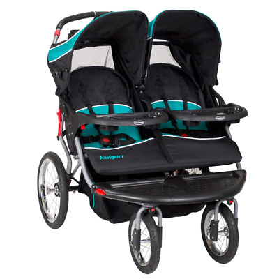 Baby Trend Navigator Double Jogger Stroller, Tropic   eBay