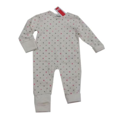 Kanz Nachtwäsche Schlafanzug Einteiler Baby Baumwolle Mädchen Gr 56,62,68,74,92