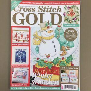 Cross-Stitch-Gold-UK-craft-magazine-December-2014-Issue-45-Christmas-Snowman-etc