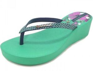 IPANEMA-ART-DECO-II-FEM-GREEN-scarpe-sandali-infradito-donna-zeppa-ciabatte