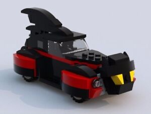 Details about Custom Lego 1940s Batmobile #20 - LXF File and Instructions  Only