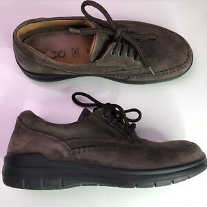 ecco vegetable tanned casual mens 41 75 us brown