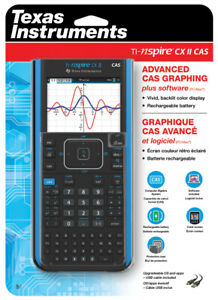 Details about TI NSPIRE CXII CAS COLOR GRAPHING CALCULATOR NEW