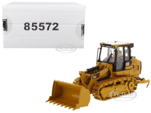 Cat Caterpillar 963k Track Loader With Operator 1/50 by Diecast Masters  Dm85572