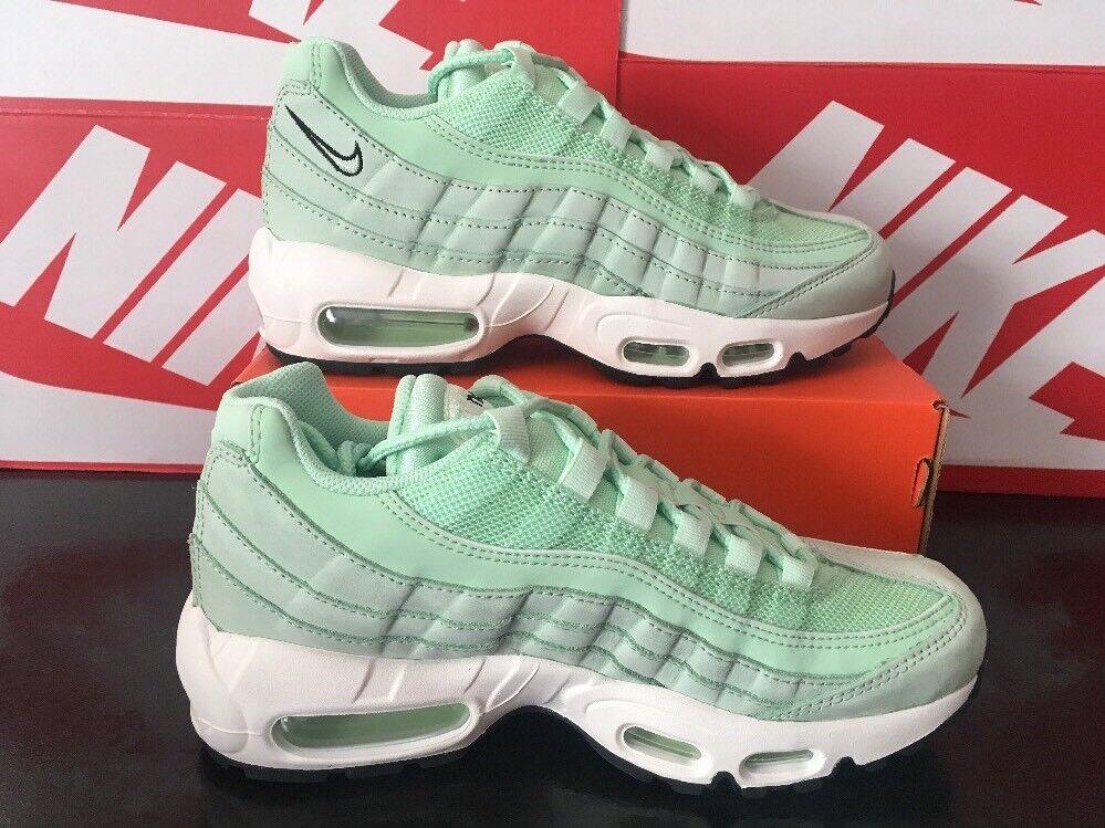 1V9 Nike Air Max 95 307960-301 Fresh Mint Size UK 4 EU 37.5 US 6.5